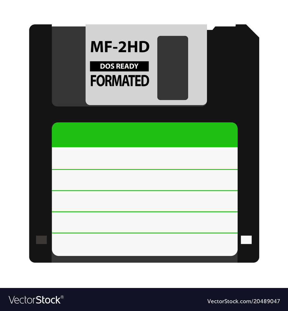 The floppy disk in the 35-inch is used in older