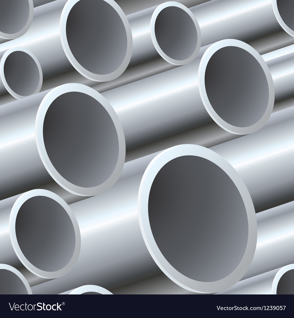 3D seamless steel pipes pattern