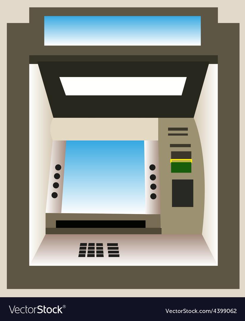 ATM machine background