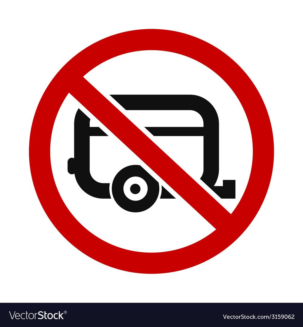 Caravans Not Allowed