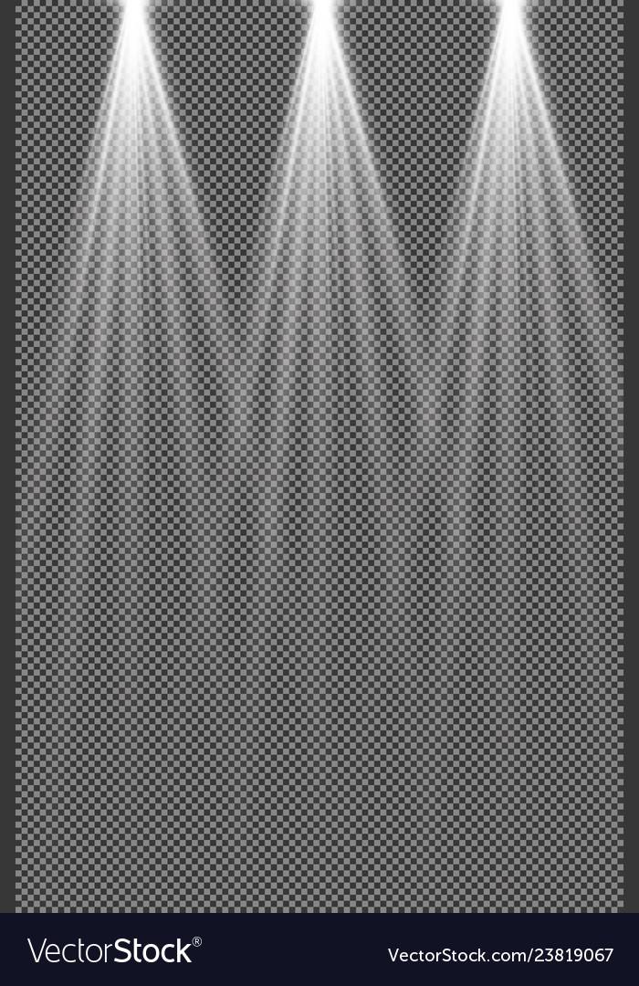 Concert lighting stage spotlights set