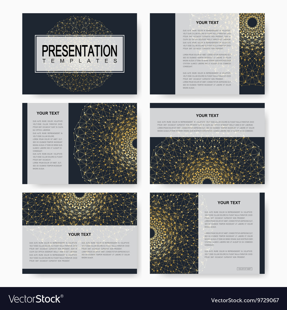Golden set of templates for multipurpose