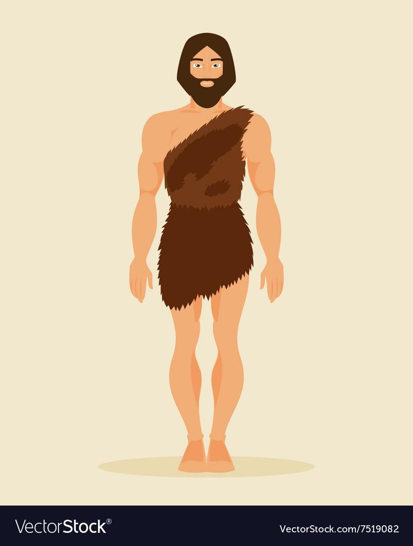 картинка древние люди в одежде из листьев самый ответственный пунктуальный