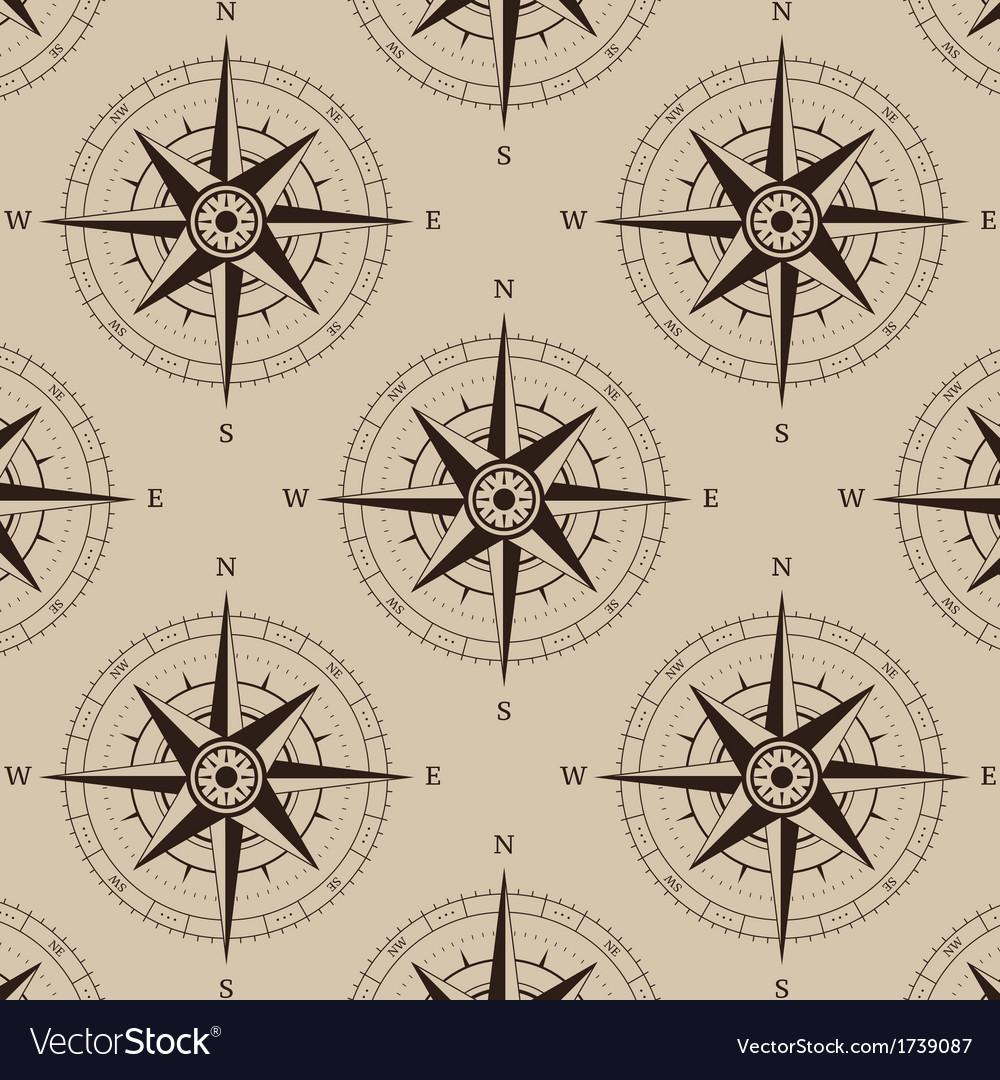 Navigation compass seamless