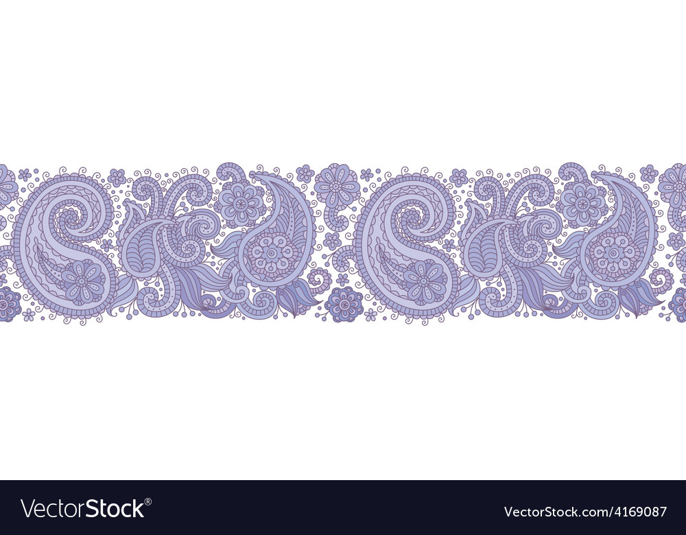 Sampless pattern blue