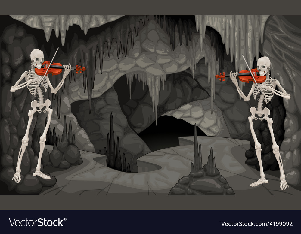 Concert the cavern vector image