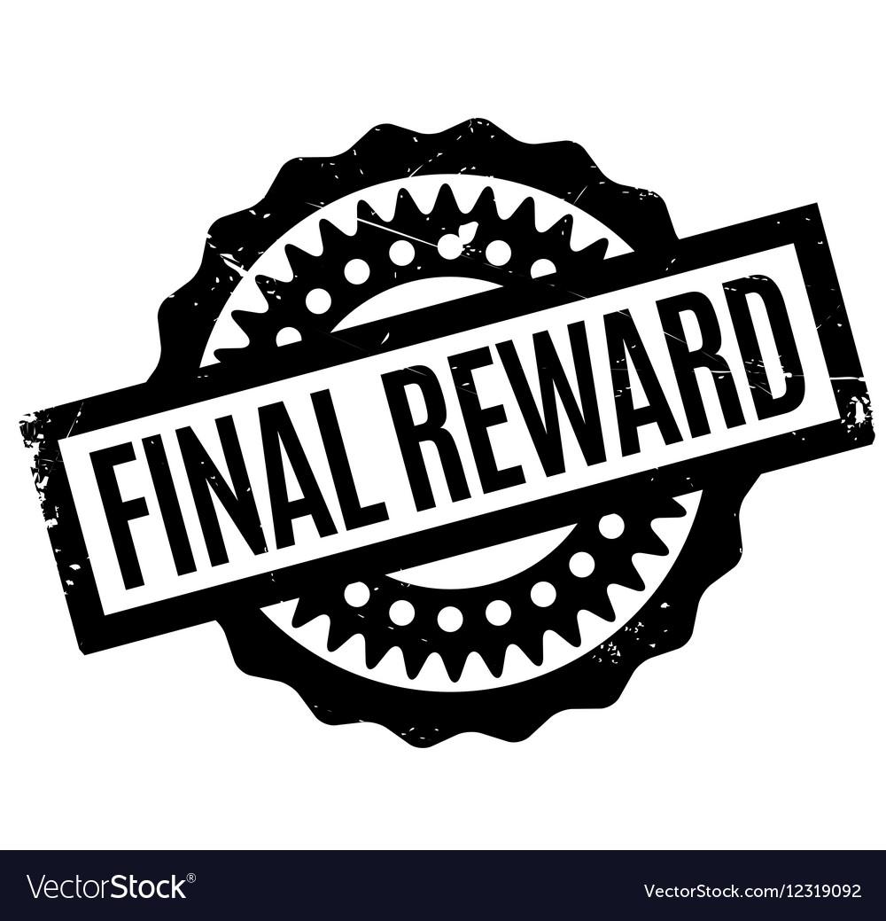 Final Reward rubber stamp