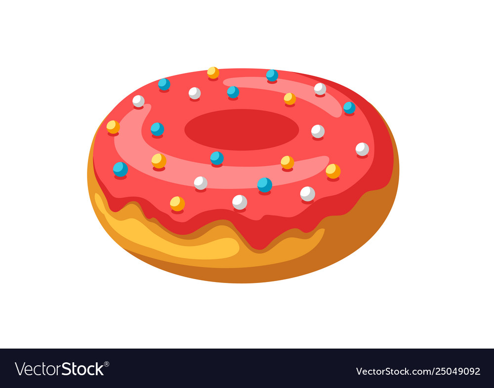 Stylized donut