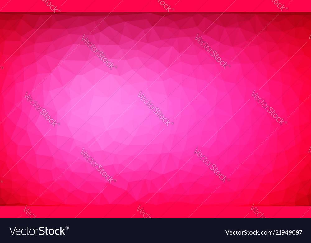Abstract irregular polygonal background