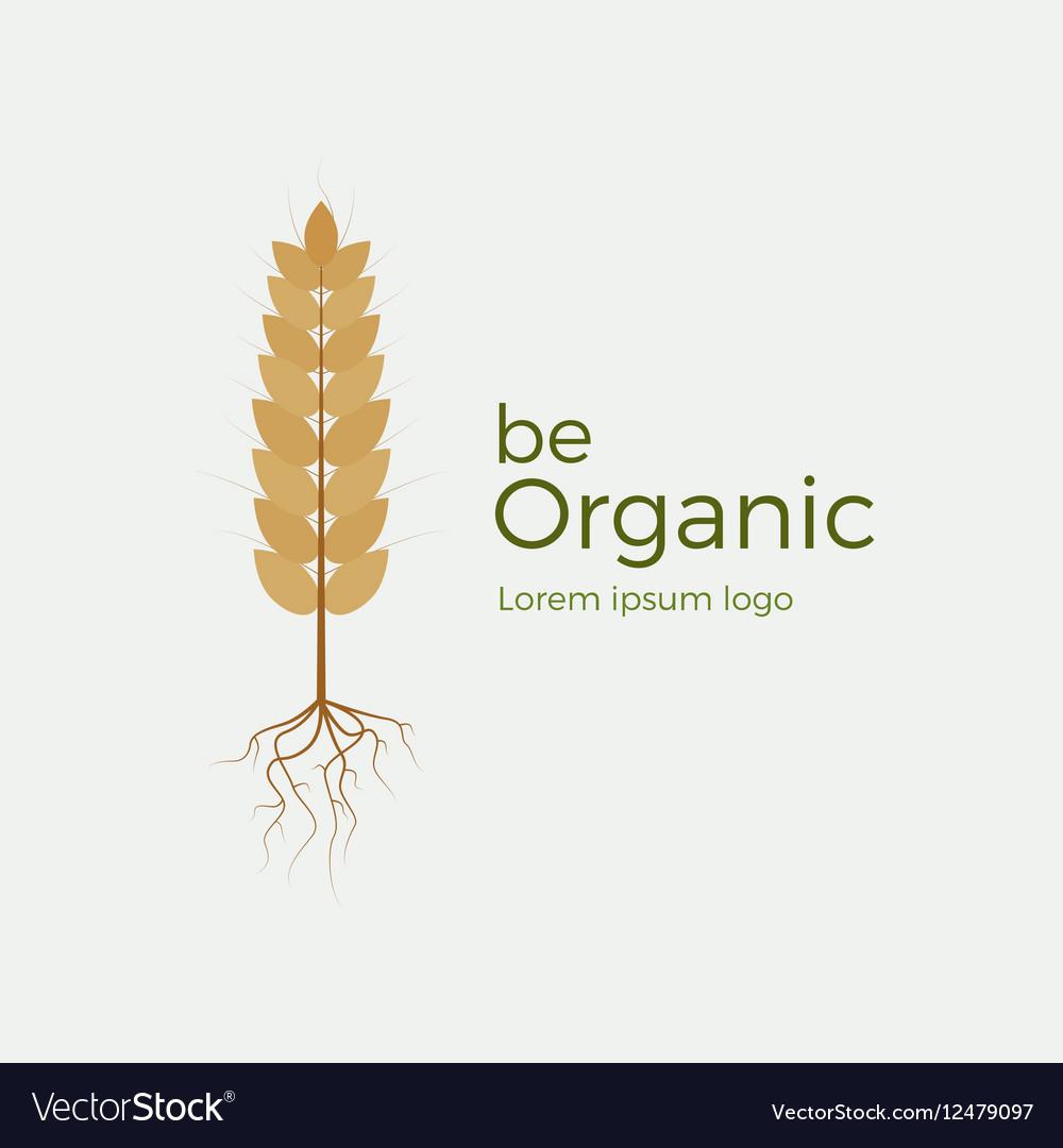 Be organic logo