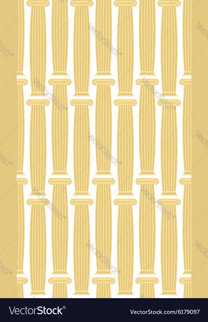 Greek Column background seamless architectural