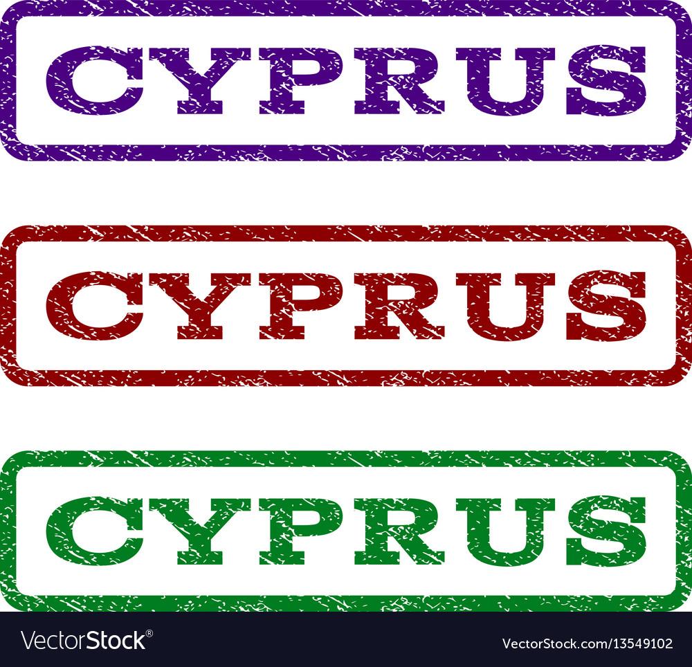 Cyprus watermark stamp