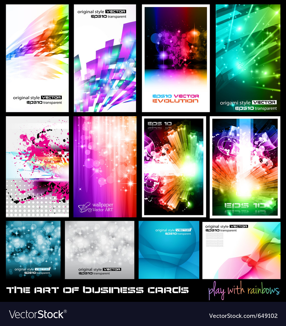 Dj poster collection vector image
