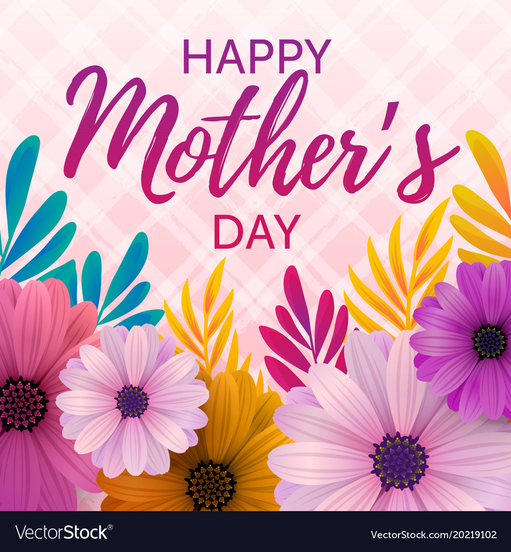 Happy mothers day card royalty free vector image happy mothers day card vector image m4hsunfo