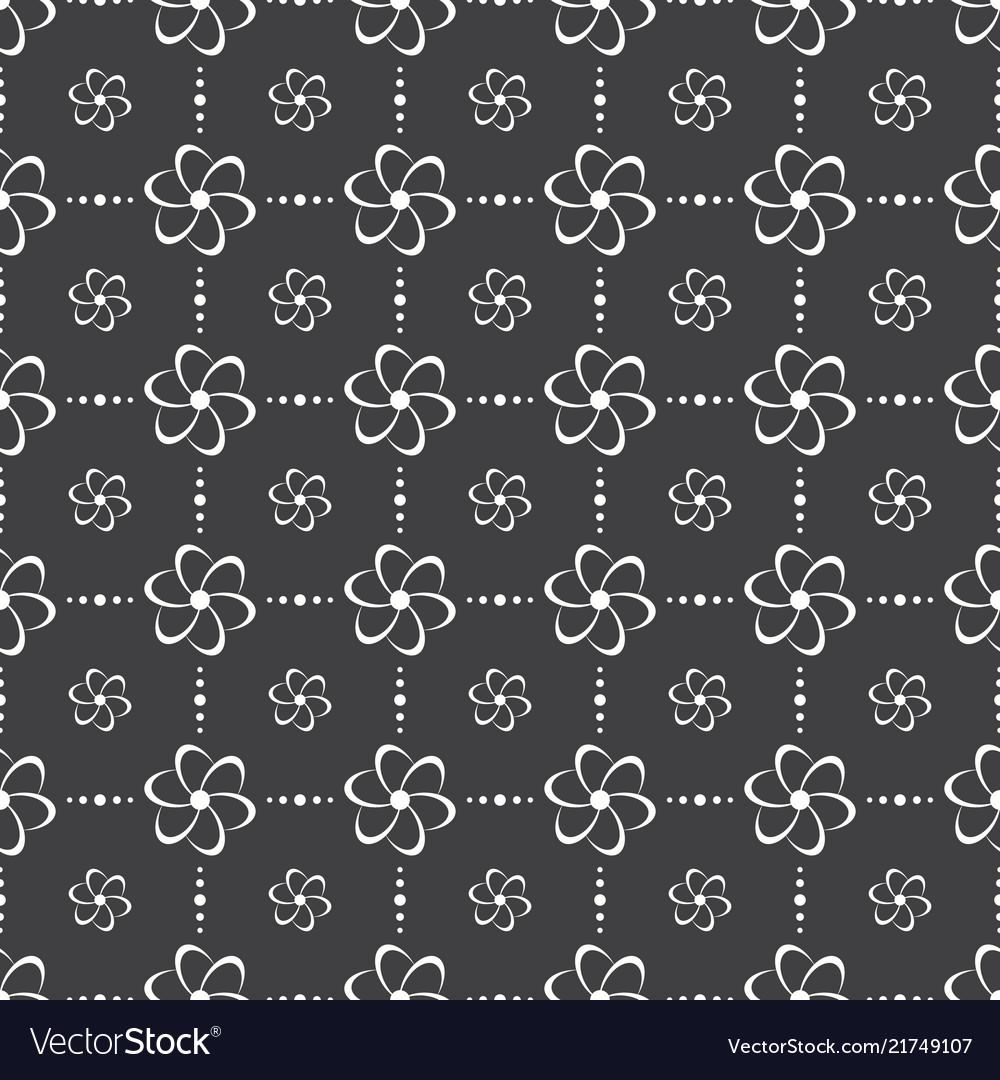 Elegant flower seamless pattern