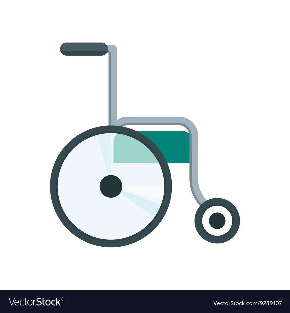 Health care wheelchair vector image