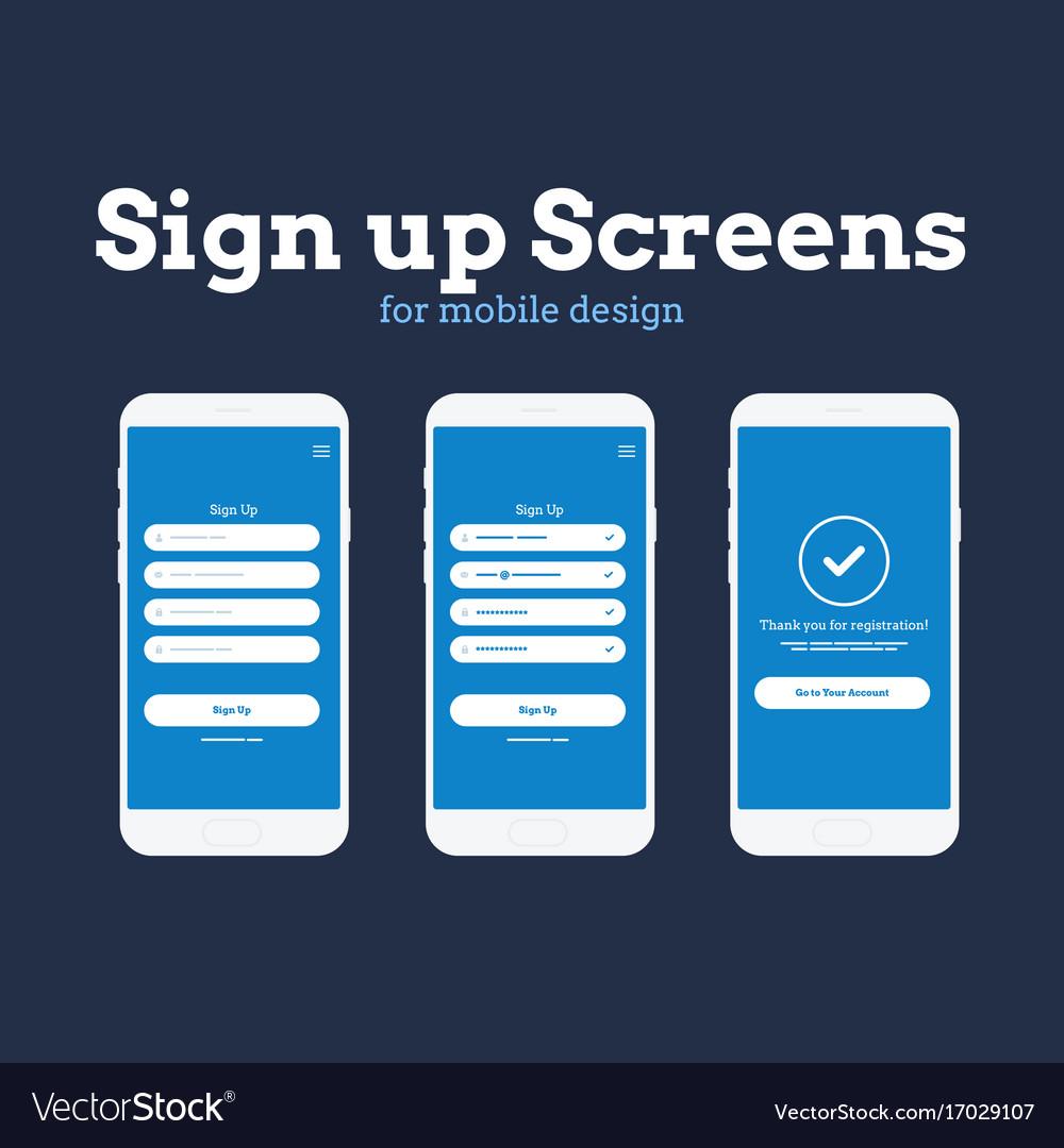 Mobile app wireframe ui kit detailed wireframe