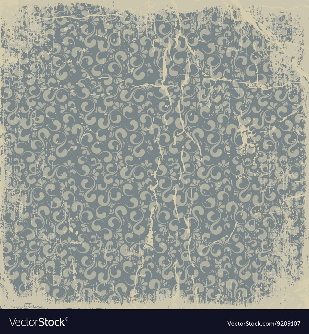 Old paper pattern vintage background