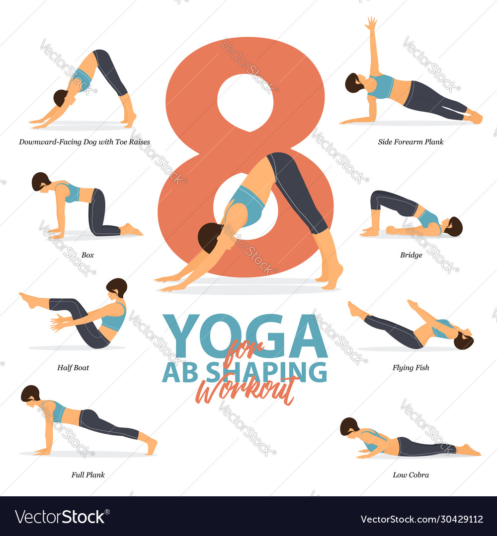 38 yoga poses for ab shaping workout