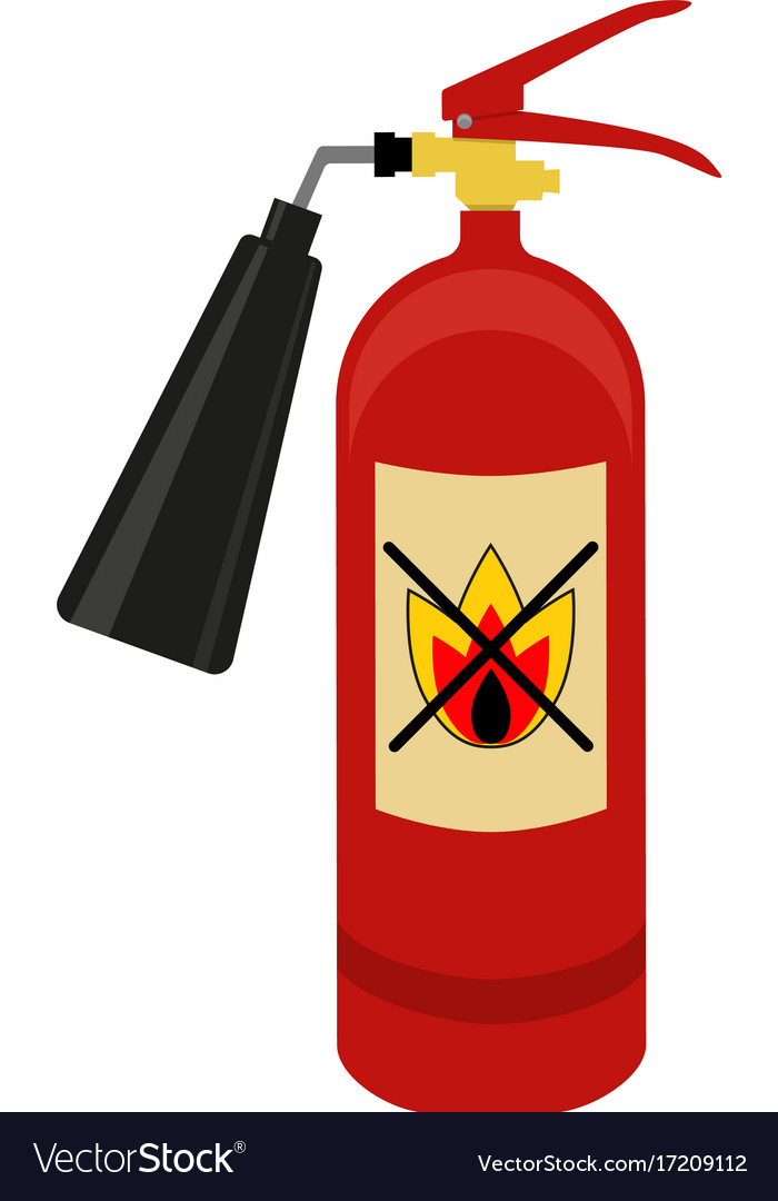 fire extinguisher logo royalty free vector image rh vectorstock com fire extinguisher logs fire extinguisher log form