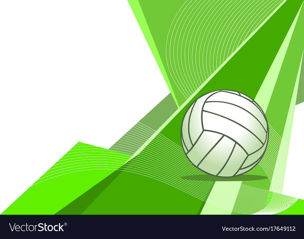 Volleyball abstract background