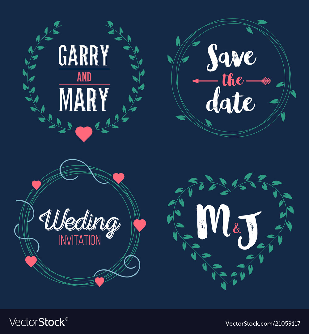 Creative of save the date