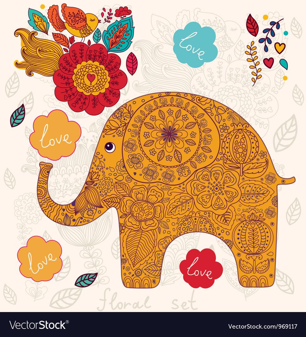 День слона открытка, днем рождения
