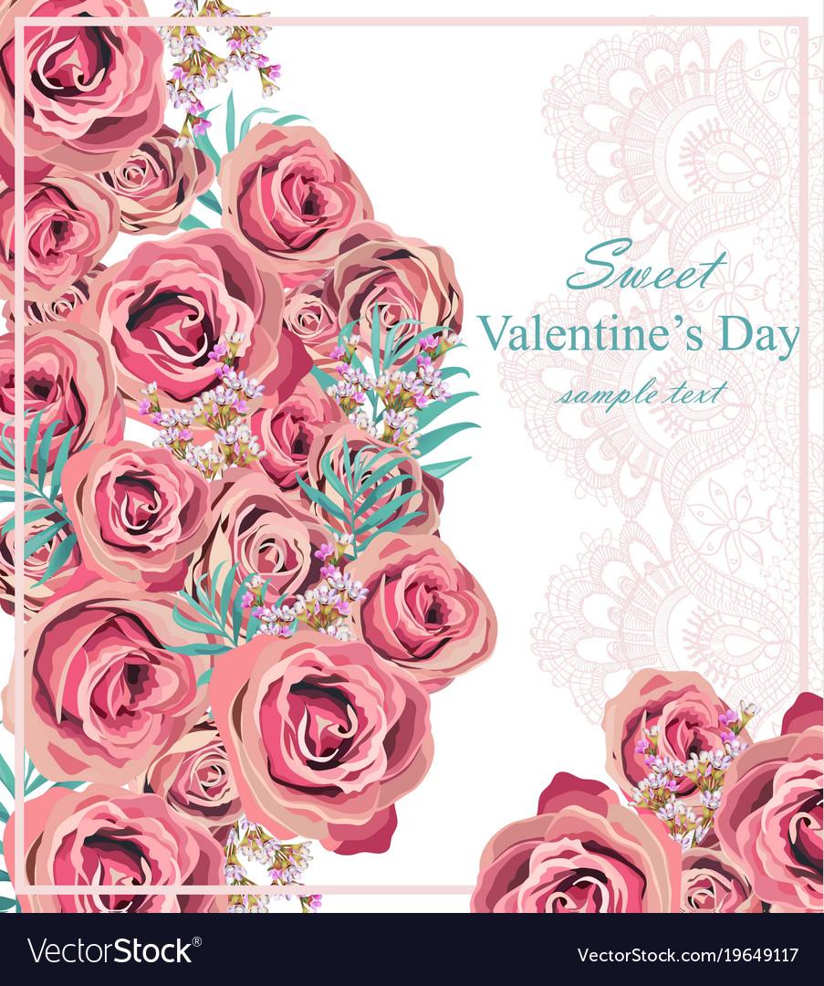 b09496cb78b7c Vintage roses floral card background