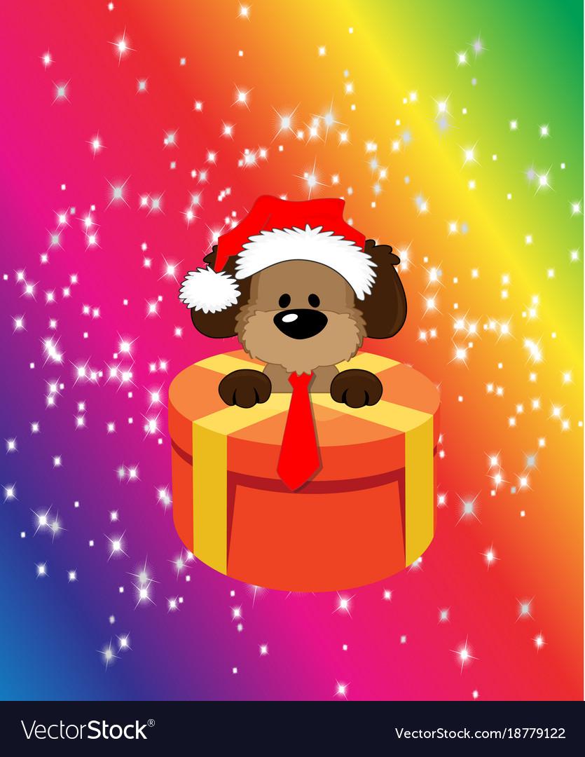 Happy christmassymbol the dog spector 2018