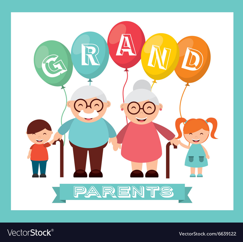 Happy Grandparents Day Royalty Free Vector Image