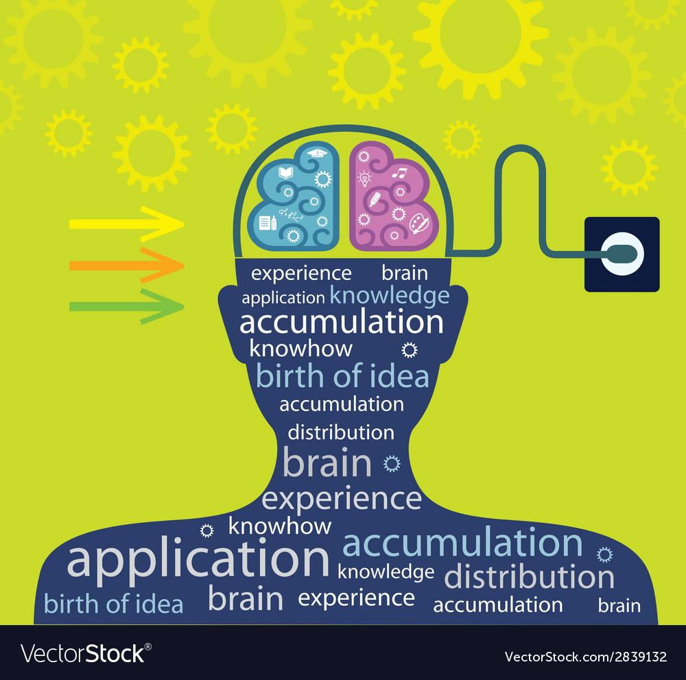 Good idea Education or business concept