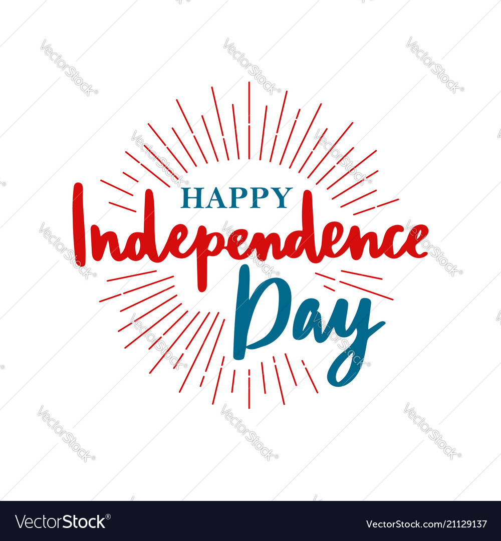 Happy united states independence day
