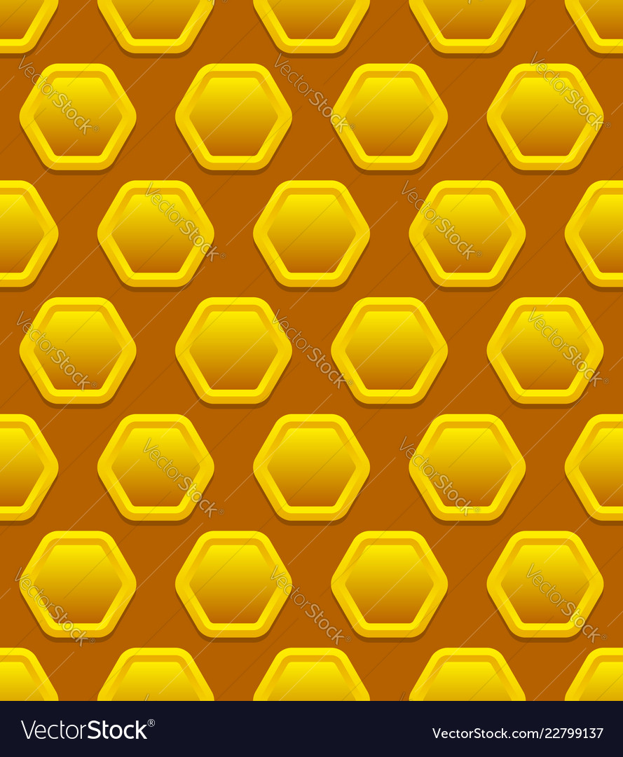 Honeycomb pattern repeatable