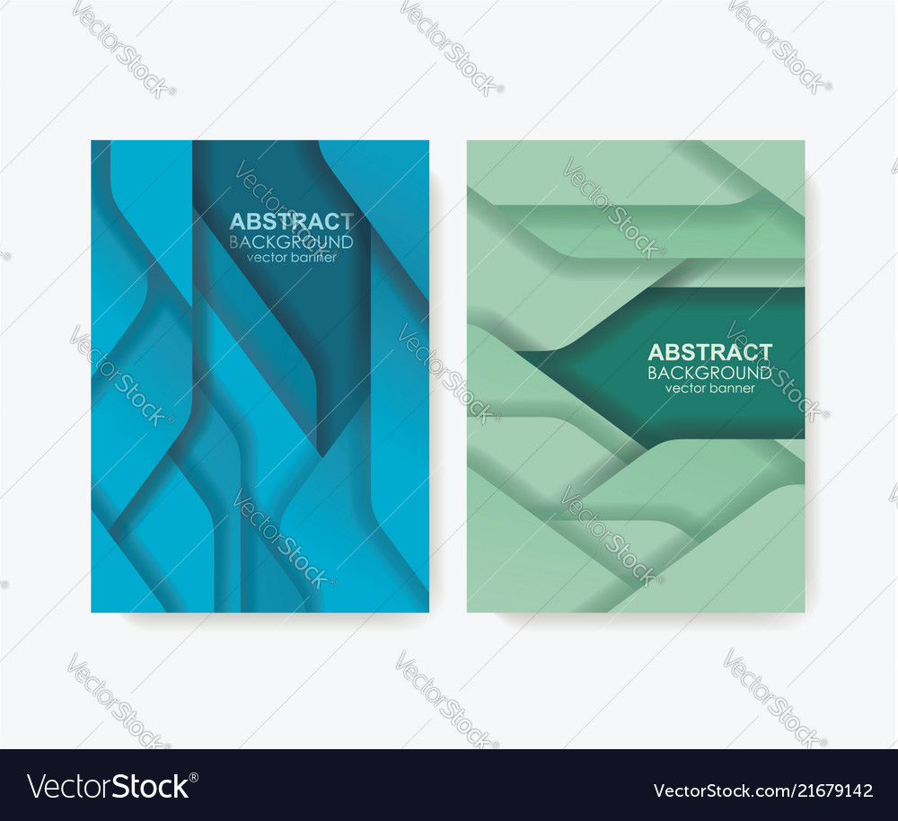 Abstract design for banners or brochure covers