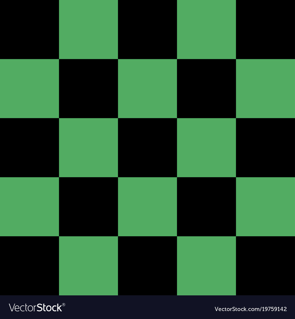 cool black and green checkered background