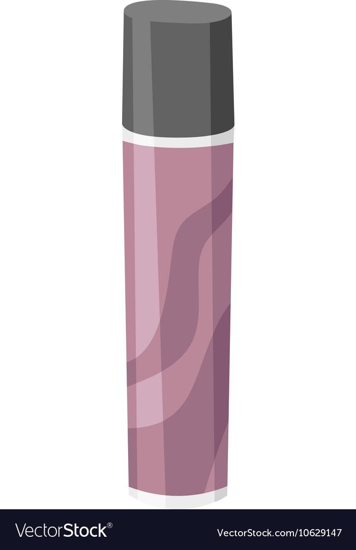 Hair style bottle vector image