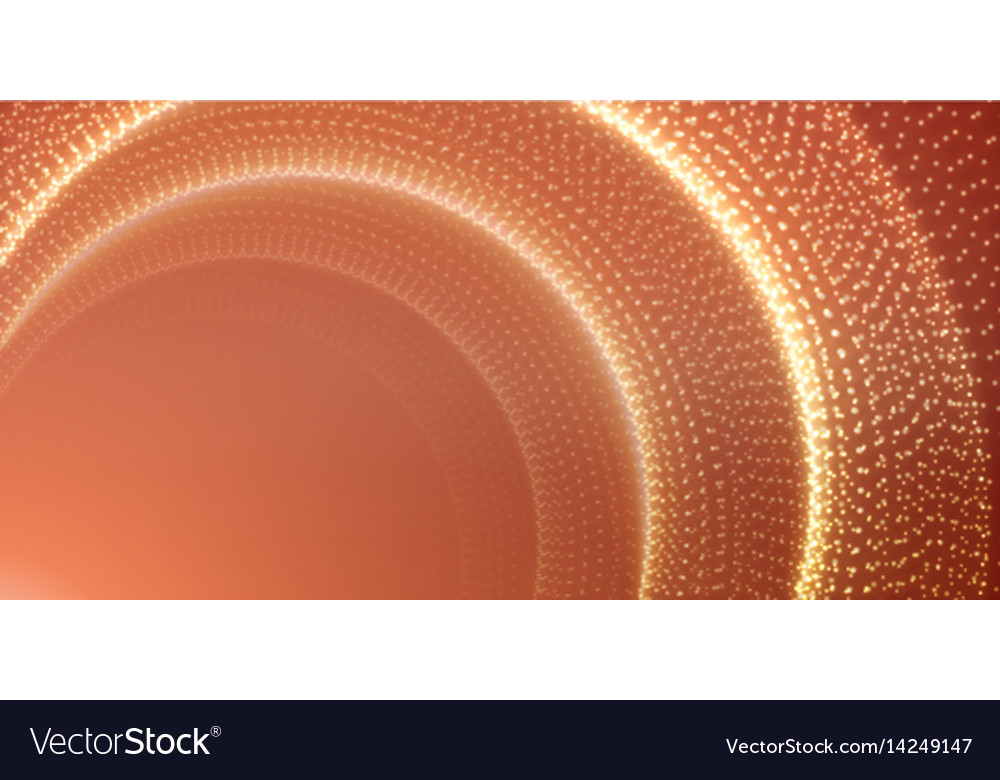 Infinite space background tunnel of