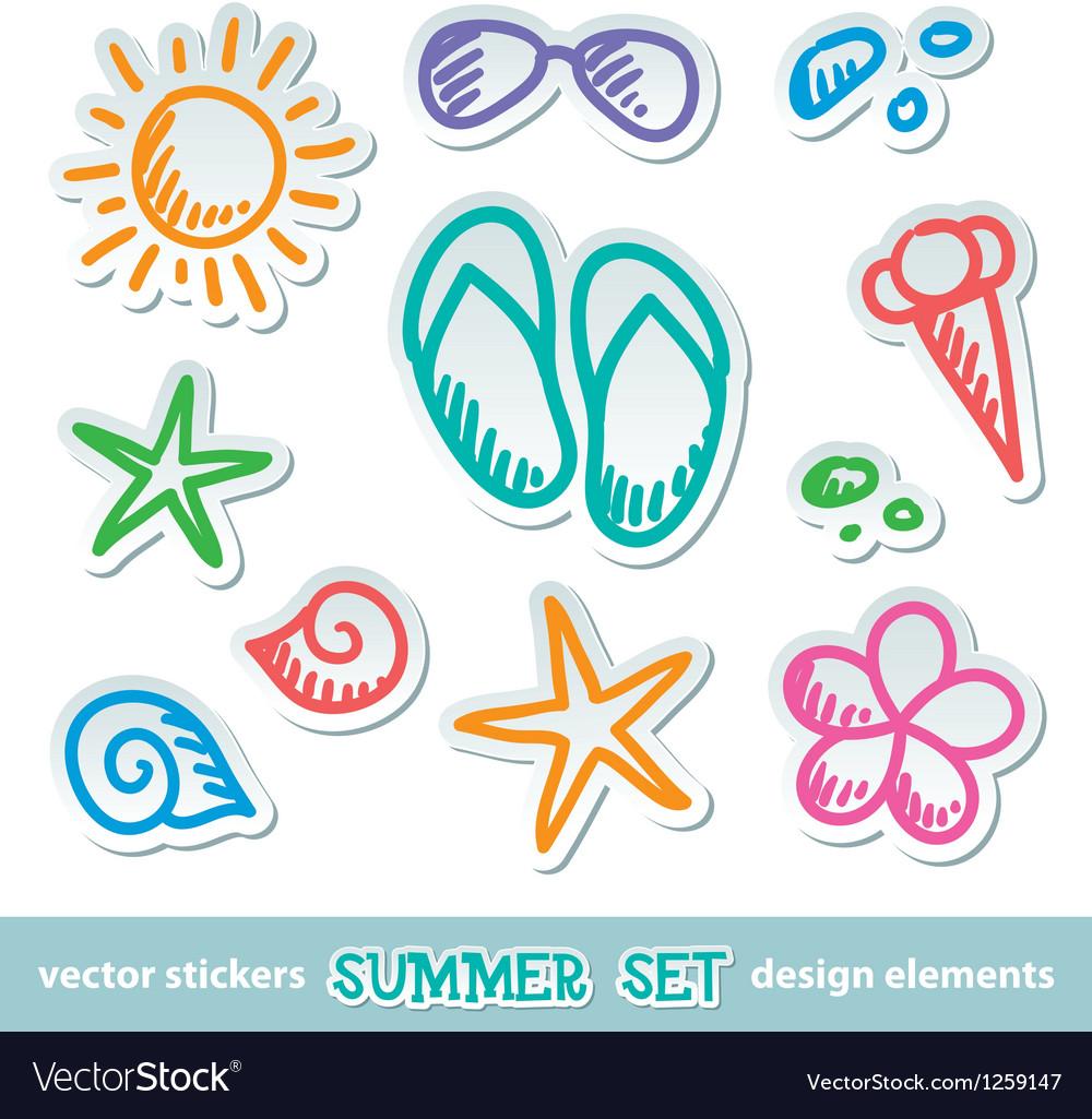 Groß Symbol Des Summers Zeitgenössisch - Elektrische Schaltplan ...