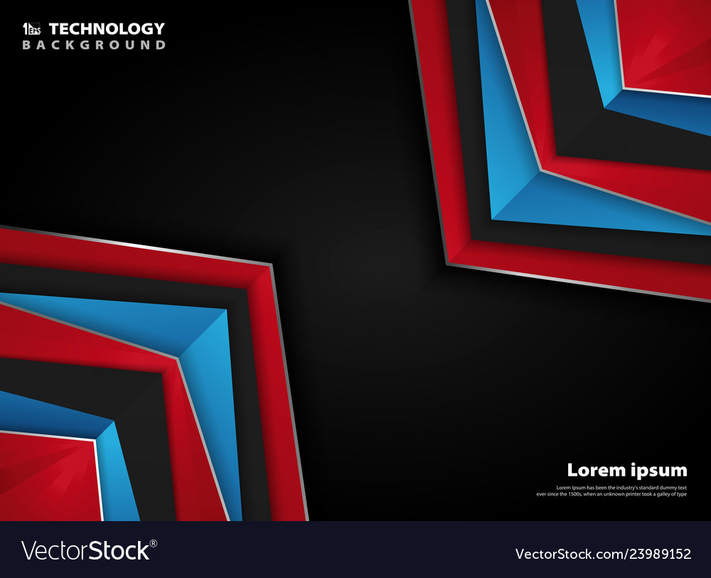 Abstract modern page red blue white colors