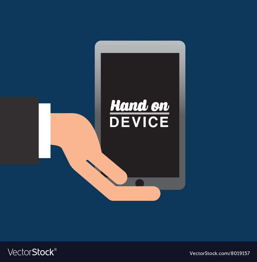 Hand on device design