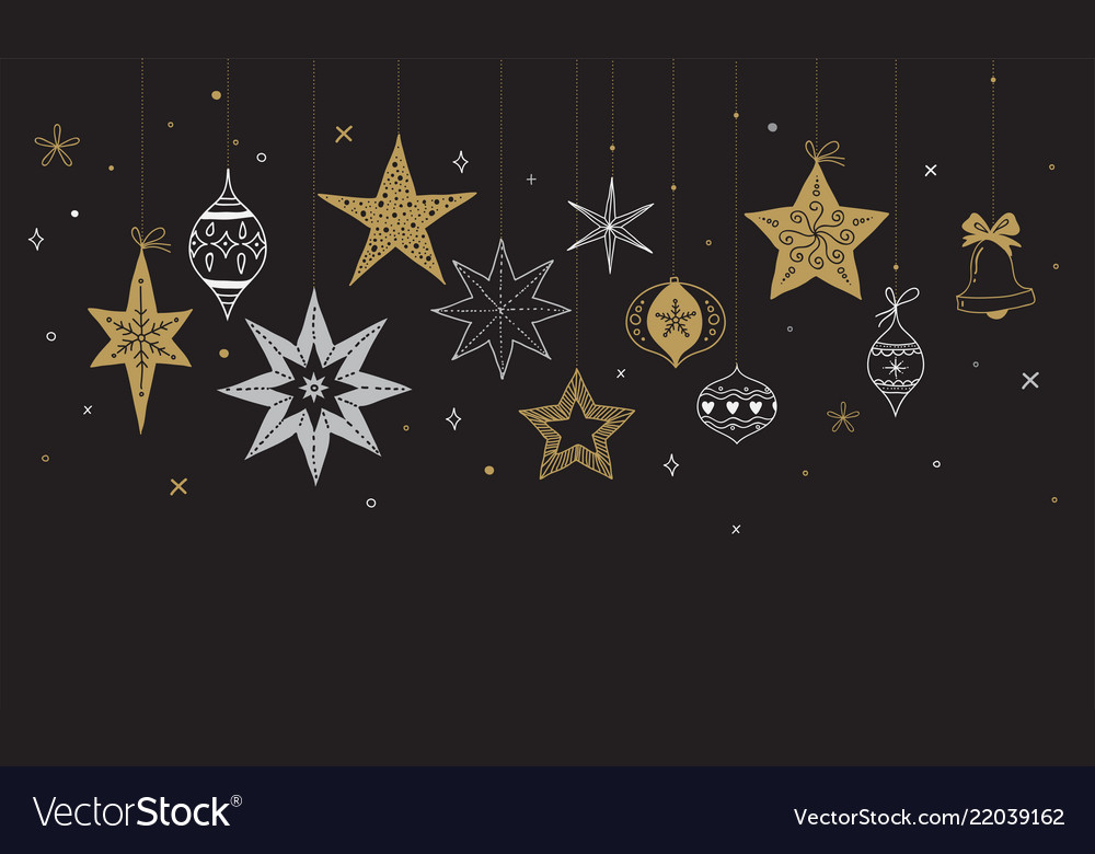 Elegant merry christmas background banner and