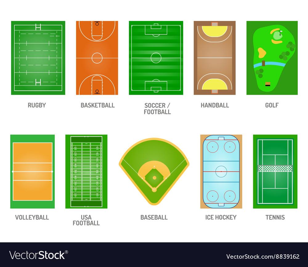 Playing fields set