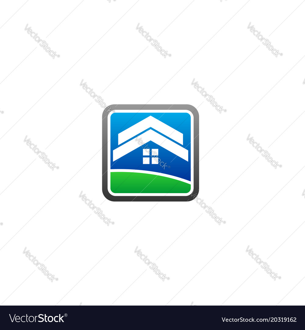 Roof home logo