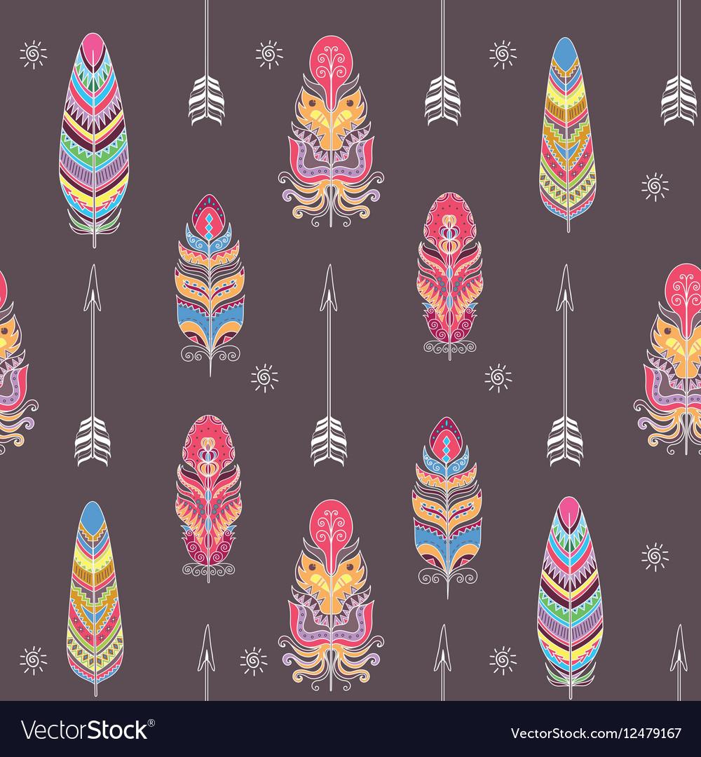 Boho Style Ornament vector image