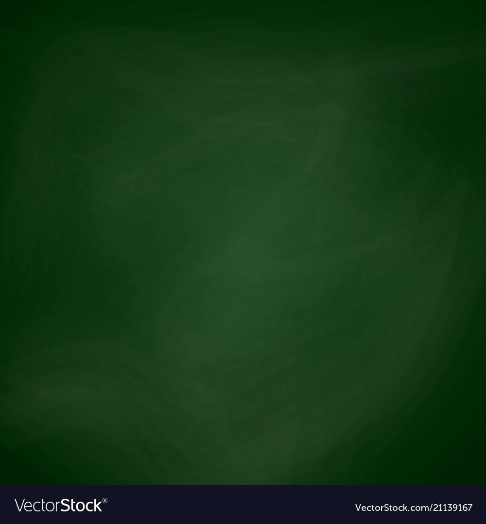 Empty blackboard dark green color chalkboard