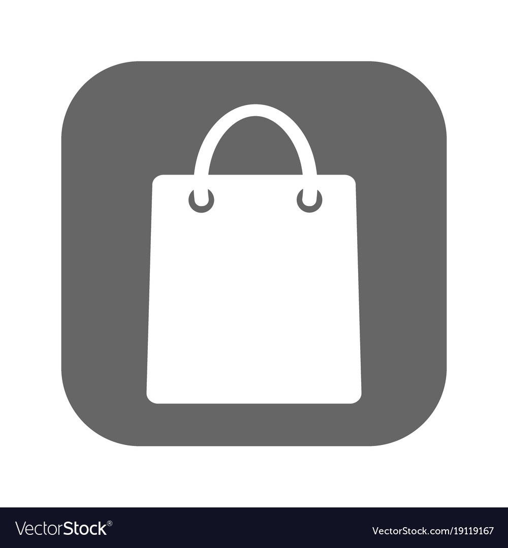 Ping Bag Icon Vector Image