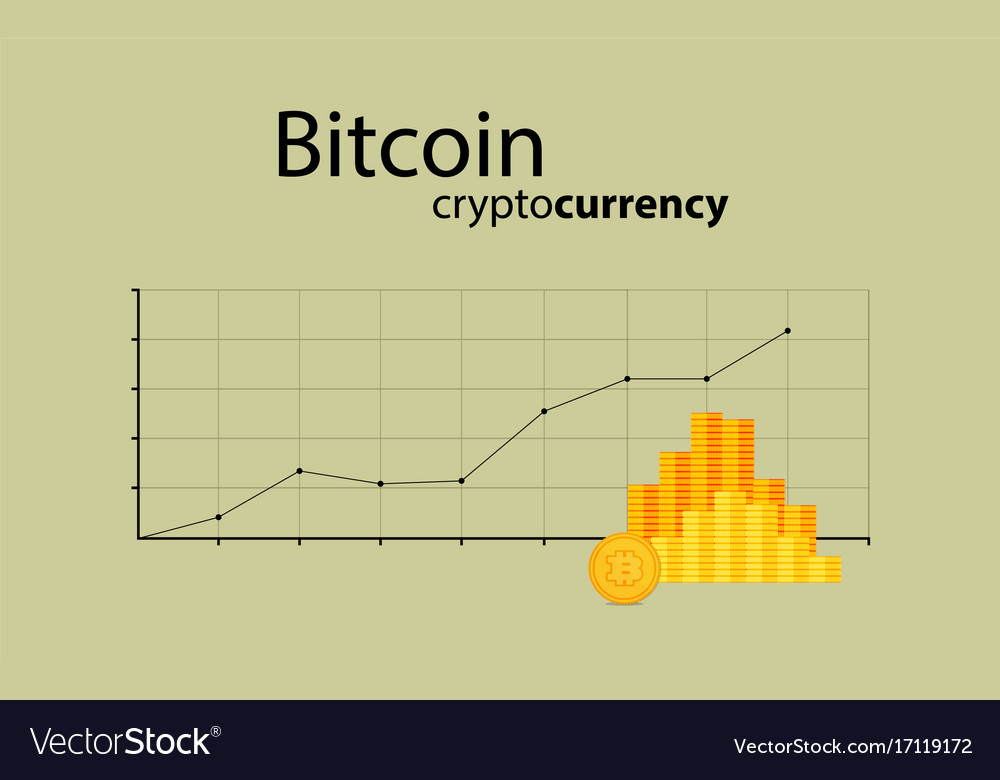 Bitcoin Crypto Currency Stick Graph