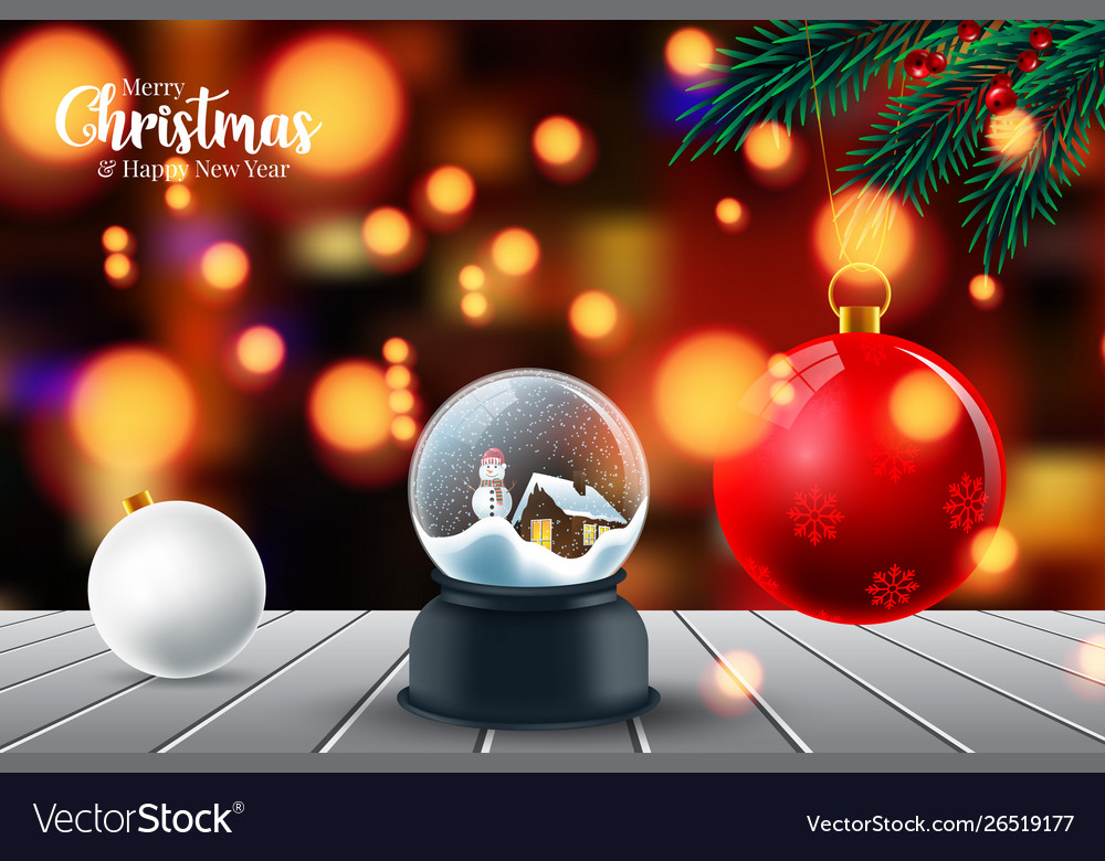 Merry christmas and happy new year beautiful