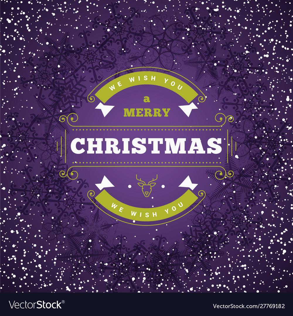 Christmas greeting card vintage christmas
