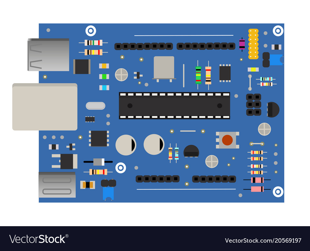 Circuit Board Assembly Vector Images 56 Buy Electronic Circuits Boardcircuit